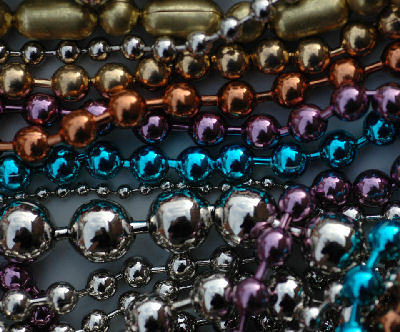 Metal Chains, color coated