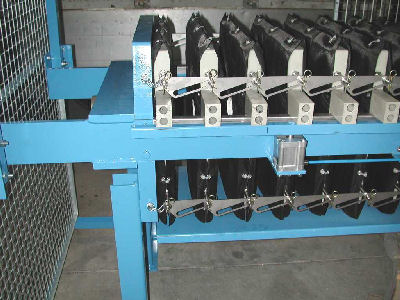 Example of a chamber filter press