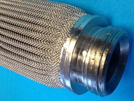 gepliceerd gaasfilter (hydrauliek)
