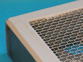 Geconfectioneerd gespannen filtergaas (frame)