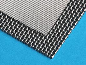 Filtergaas en support mesh