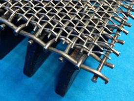 2 laags catalyst support mesh op een grid