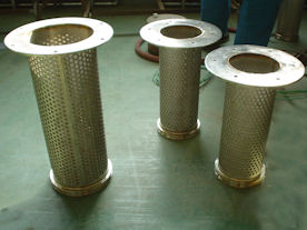 Filterbaskets in productie