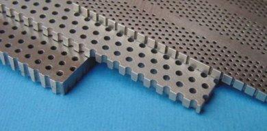Gefreesde / geboorde perforatie, cylindrische en conische gaten