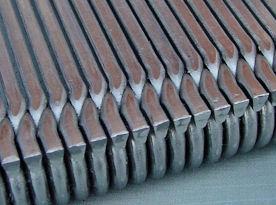 Detailvoorbeeld gerold (!) v-wire gaas