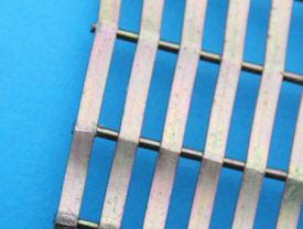 Detailvoorbeeld gelast draad/stripgaas cylinder
