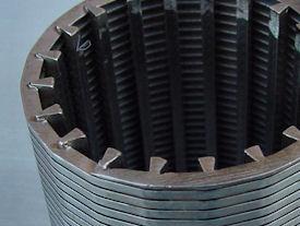 Detailvoorbeeld cylindrisch gelast v-wire gaas